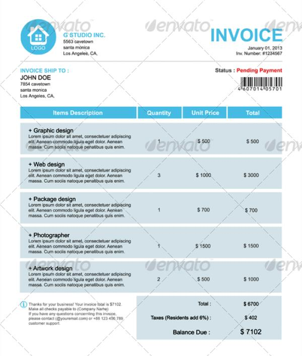 Invoice Email Confirmation Coolestbillever Slash